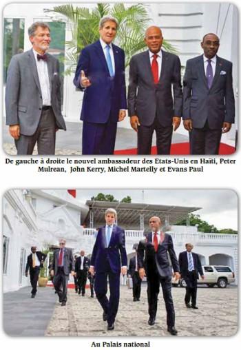 1 premier president haiti