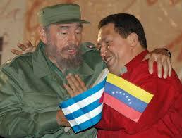 Fidel Castro et Hugo Chavez