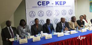 Des membres du Conseil Electoral Provisoire