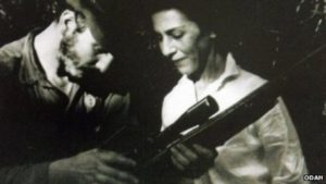 Première photo de Fidel et Célia faite dans la province d'Oriente en février 1957.