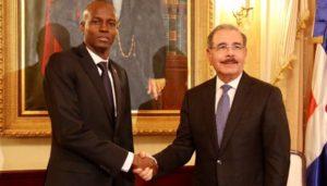 Jovenel Moise et le Président Dominicain Danilo Medina