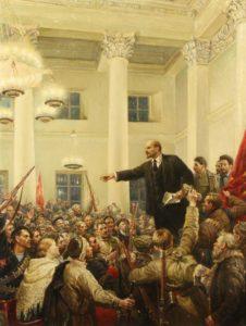 Vladimir Ilitch Oulianov, dit Lénine, un adepte de la philosophie marxiste