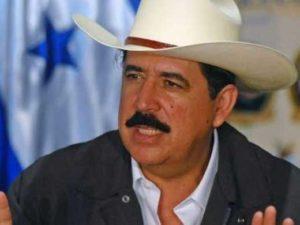 … En 2009, les Etats-Unis ont encouragé un coup d'Etat des militaires qui éjecta du pouvoir le président du Honduras Manuel Zelaya
