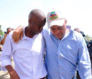 Le candidat à la présidence du PHTK, Jovenel Moise, une doublure du président mercenaire Michel Joseph Martelly, gagnant des élections du 20 novembre 2016