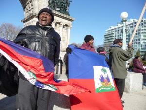 Manifestation à Brooklyn, Grand Army Plaza, samedi 4 février dernier