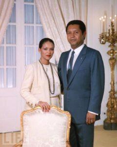 Michèle Bennett Pasquet Duvalier l'ancienne « dame de fer du régime de Jean-Claude Duvalier »