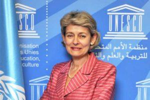 La directrice générale de l'Unesco, Irina Bokavo