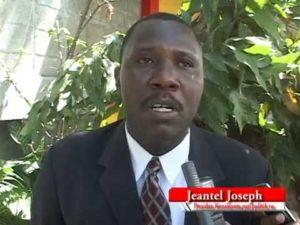 Jeantel Joseph Président du Consortium National des Partis Politiques Haïtiens