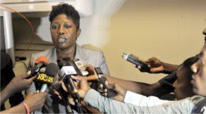Le porte-parole du Parquet de Port-au-Prince Mme Mirlande Dupiche Prévost *************