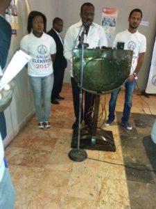Le « salon des élections du 29 janvier » qui a eu lieu le dimanche 22 et mardi 24 janvier 2017 à l'hôtel Ritz Kinam II à Pétion-Ville
