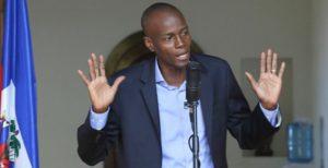 Regardez, peuple haïtien, j'ai les mains propres. « Le président a parlé. Point-barre!