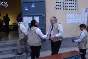 Il y a plus d'observateurs étrangers que d'électeurs dans les centres de vote