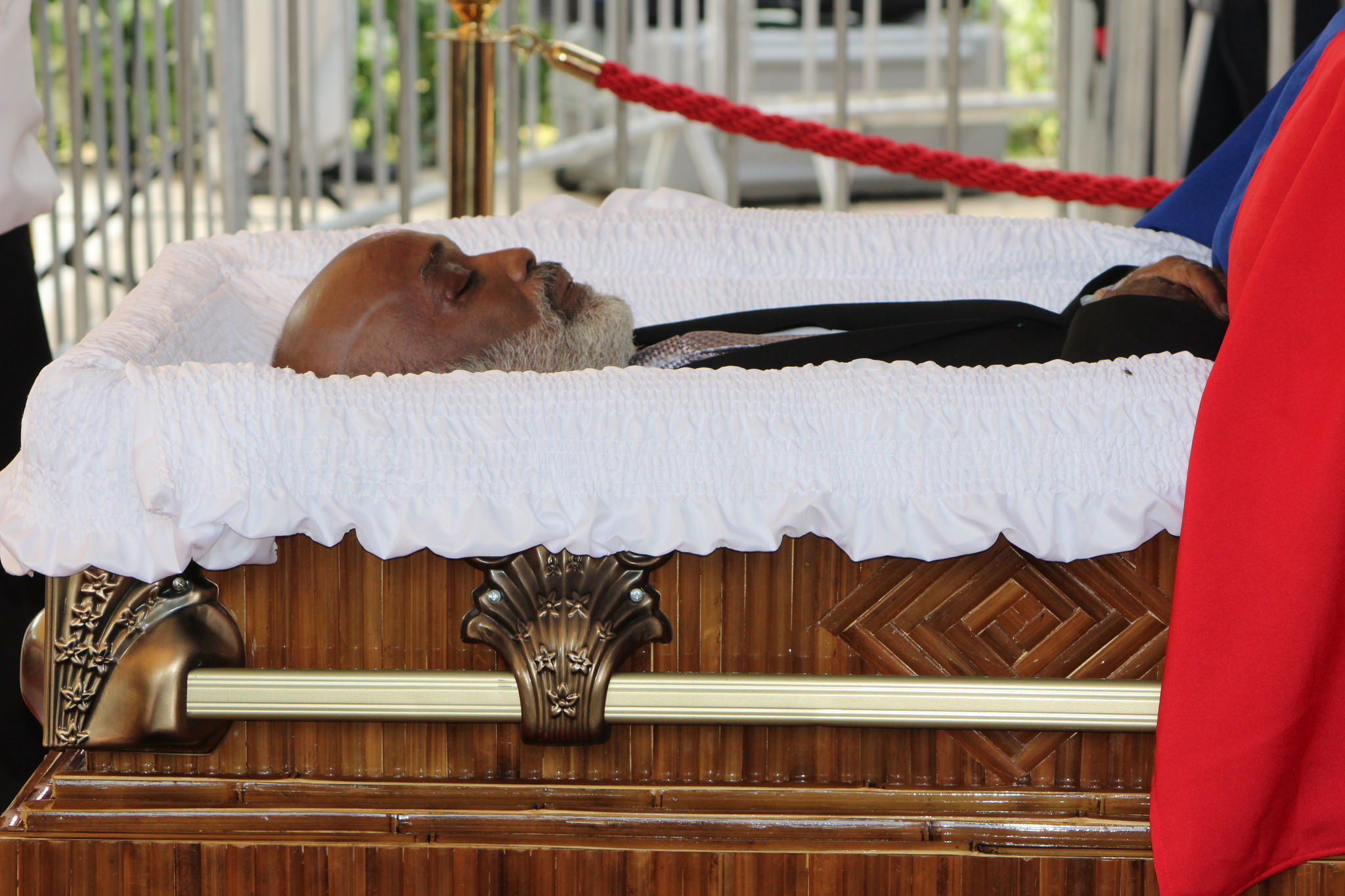 Les funérailles de l'ancien dirigeant d'Haïti ont été célébrées le samedi 11 mars à la capitale.