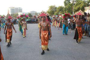 A Port au Prince il n'y avait pas grande foule comme à l'accoutumée ; mais on pouvait le constater puisqu'il n'y avait pas beaucoup d'argent, le magistrat Youry Chevry ayant été pourvu de maigres moyens.