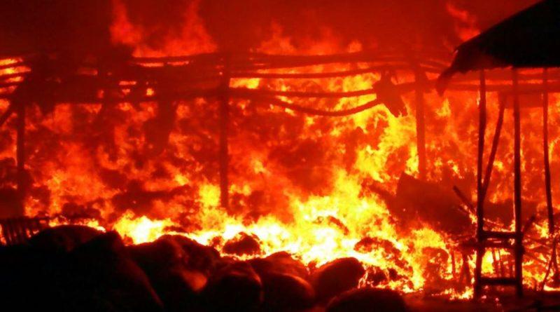Ce n'est pas la première attaque qui a porté sur ce marché, il avait déjà été partiellement détruit par un incendie dans la nuit du 23 au jeudi 24 mars 2016.