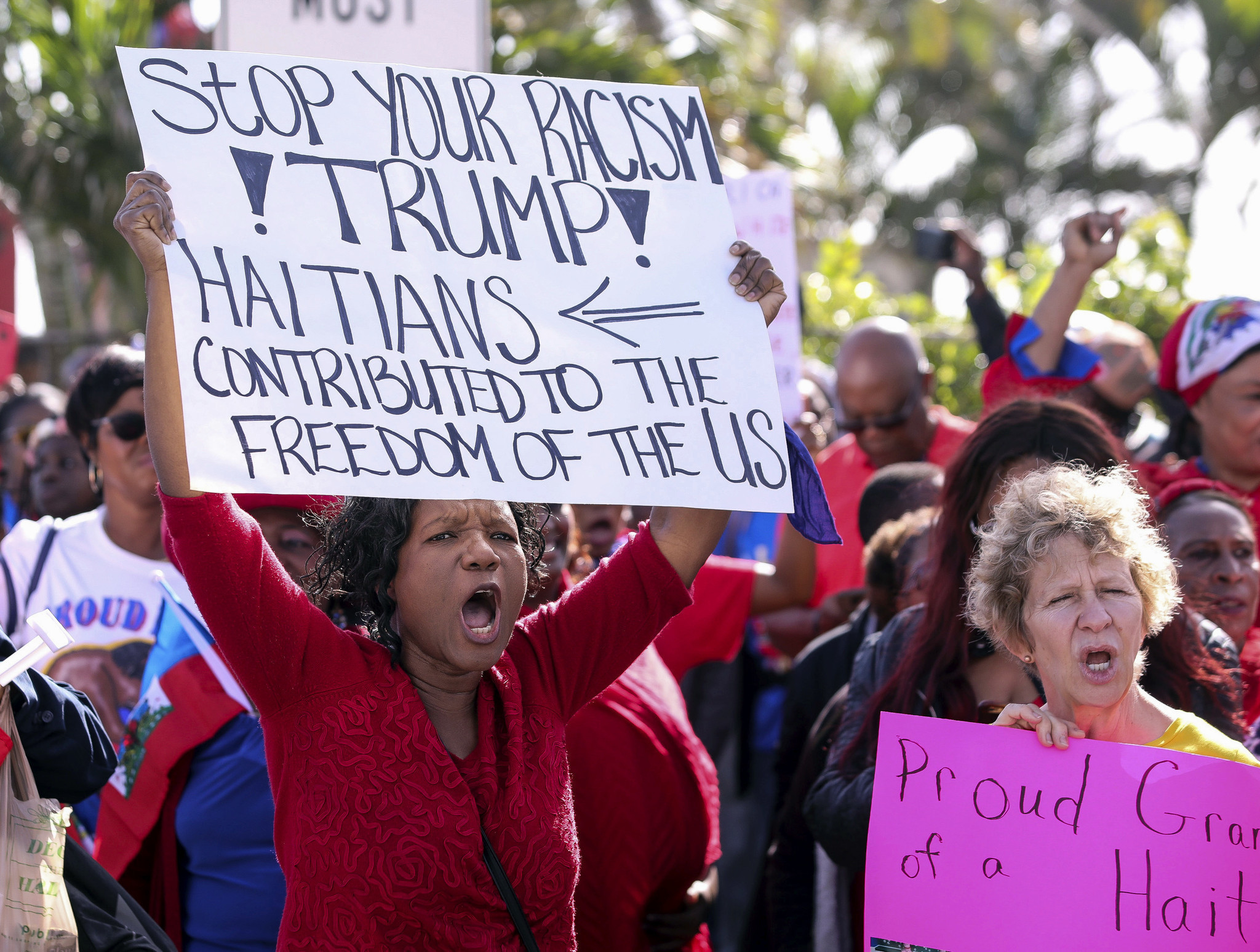 naacp sues trump administration for racial discrimination in haitian